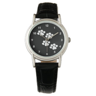Animal Paw Prints Wrist Watches