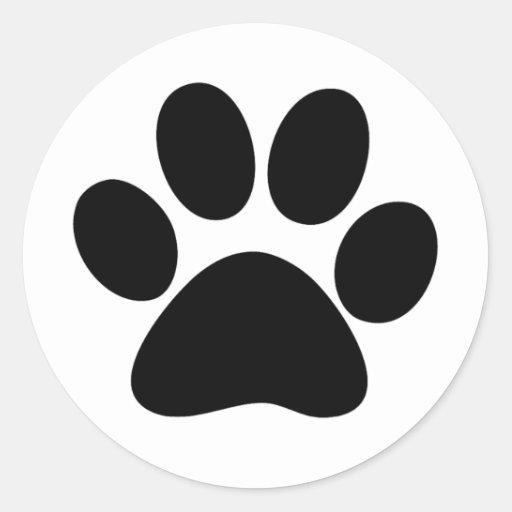 Animal Paw Stickers