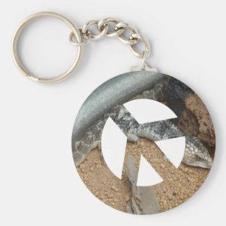 Animal Peace Keychain