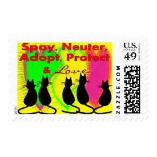 Animal & Pet Adoption Gifts Postage Stamps