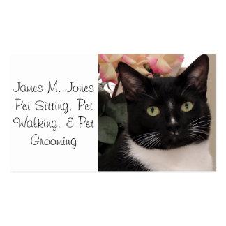 Animal Pet Sitting Business Card