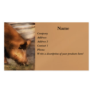 Animal - Pigs - Family Bonds Business Card