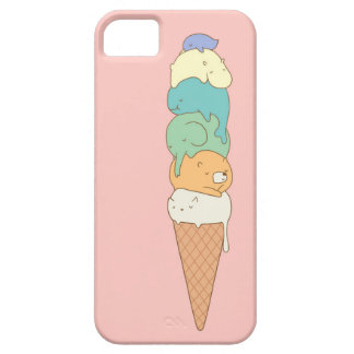 """Animal Pile"" Ice Cream Phone Case"