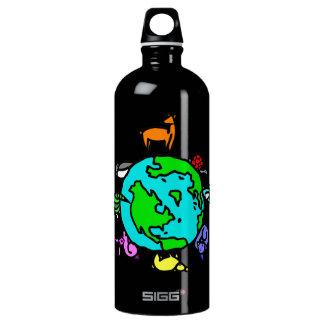 Animal Planet Aluminum Water Bottle