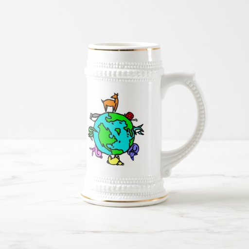 Animal Planet Beer Stein
