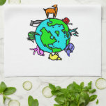 Animal Planet Hand Towel