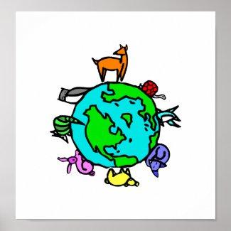 Animal Planet print