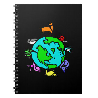 Animal Planet Spiral Note Book