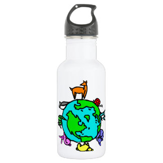Animal Planet Stainless Steel Water Bottle