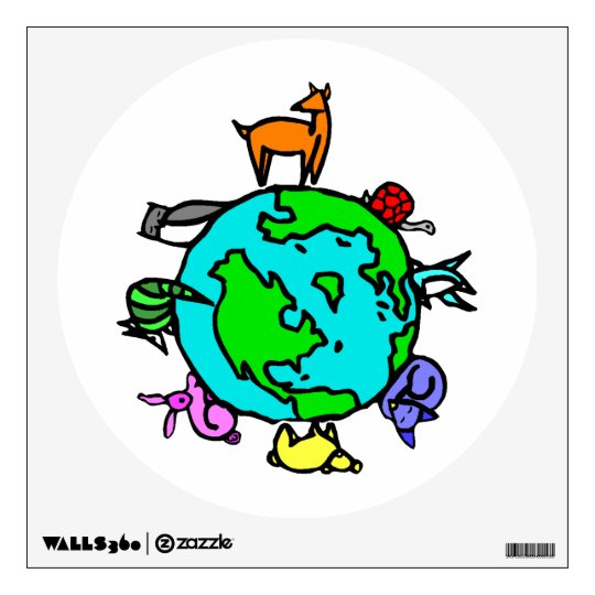 Animal Planet Wall Sticker