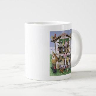 Animal Playhouse 20 Oz Large Ceramic Coffee Mug