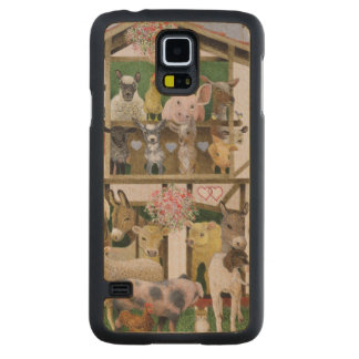 Animal Playhouse Carved® Maple Galaxy S5 Case