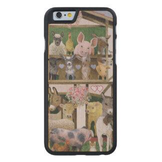 Animal Playhouse Carved® Maple iPhone 6 Slim Case