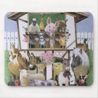 Animal Playhouse Mouse Pad