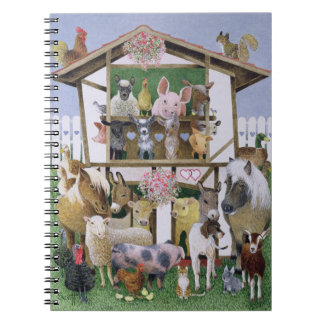 Animal Playhouse Notebook