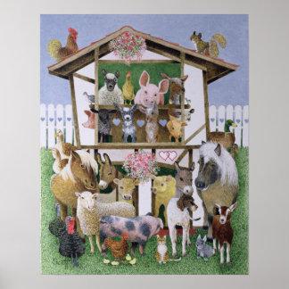 Animal Playhouse Poster
