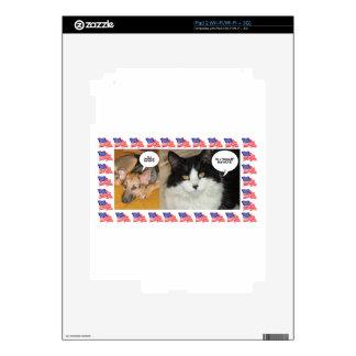 Animal Politics Election 2016 Decal For The iPad 2