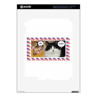 Animal Politics Election 2016 iPad 3 Decal