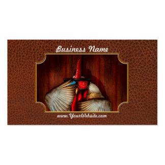 Animal - pollo - noche de película tarjeta de negocio