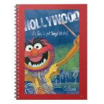 Animal - poster de Hollywood, California Spiral Notebook