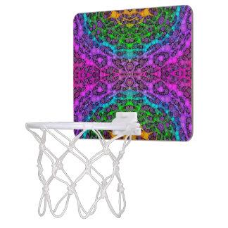 Animal Print Abstract Basketball Hoops Mini Basketball Backboards