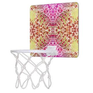 Animal Print Abstract Basketball Hoops Mini Basketball Backboard