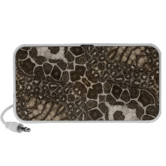Animal Print Abstract Customisable Gifts Laptop Speakers