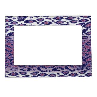 Animal Print Abstract Photo Frame Magnets