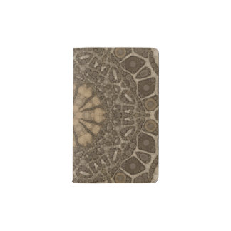Animal Print Abstract Pocket Moleskine Notebook Cover With Notebook