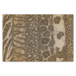 Animal Print Abstract Tissue Paper at Zazzle