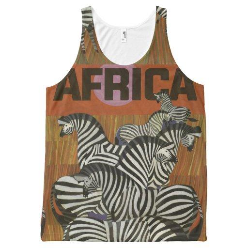 Animal print All-Over print tank top Tank Tops, Tanktops Shirts