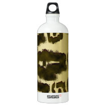 Animal Print Aluminum Water Bottle