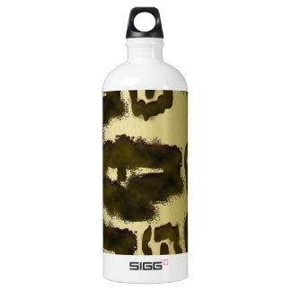 Animal Print Aluminum Water Bottle