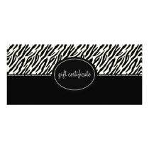 Animal Print Boutique Style Gift Certificates