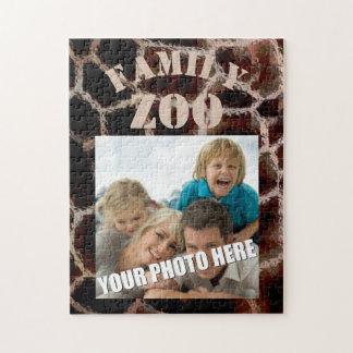 Animal Print Brown Jigsaw Puzzle