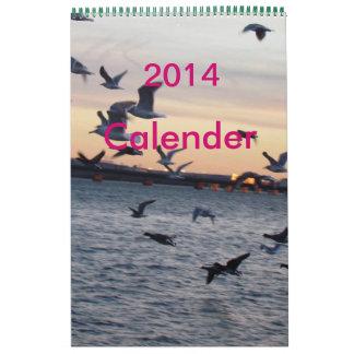 Animal Print Calender Calendar