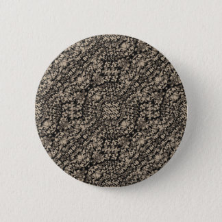 Animal Print Camo Pattern Pinback Button