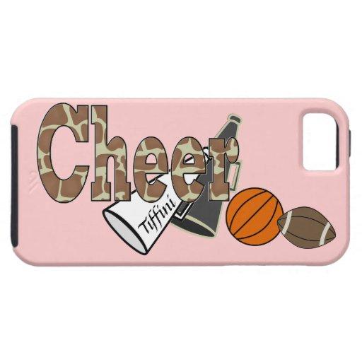 Animal Print Cheer iPhone 5 Case