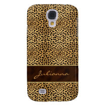 Animal Print Cheetah in Natural Hues Samsung Galaxy S4 Cover