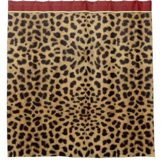 Awesome Animal Print Cheetah Shower Curtain