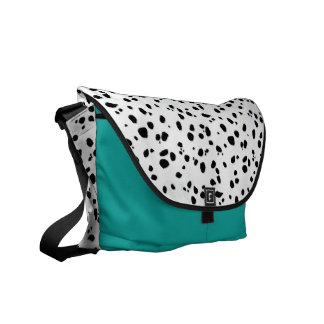 Animal Print Dalmatian Pattern Messenger Bag