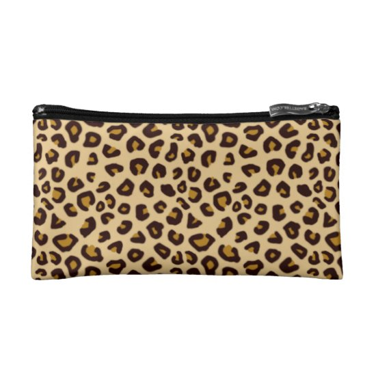 Animal Print Effect Clutch/Mini Bag