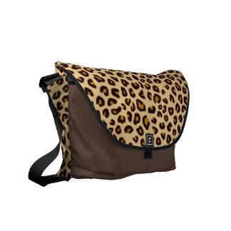 Animal Print Effect Shoulder Bag Messenger Bags