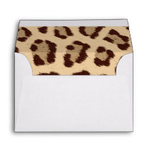 Animal Print Envelope
