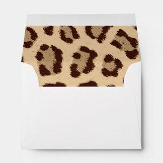 Animal Print Envelope
