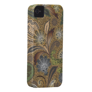 Animal Print Floral Paisley Case-Mate iPhone 4 Case