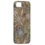 Animal Print Floral Paisley iPhone 5 Cases
