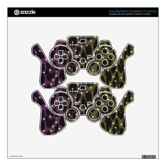 Animal Print Game Controller Decals Skins For PS3 Controllers