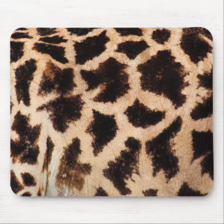 Animal Print (Giraffe Pattern) - Brown Mouse Pad