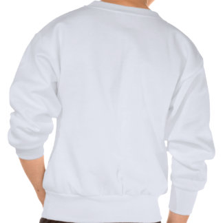 Animal Print Heart Sweatshirt - Pink/Turq/Black Pullover Sweatshirts